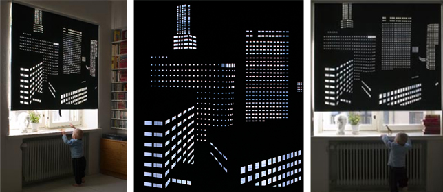 These Modern Blackout Curtains Capture Night Sky In Worlds Grandest Cities