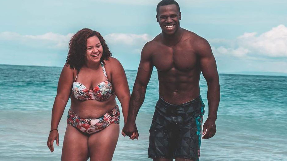 Wife's Post On Having Different Body Type Than Husband Is Inspiring Thousands