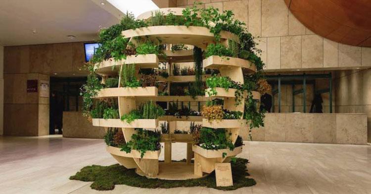 IKEA Releases Free Design For Garden Sphere That Feeds Entire Neighborhood.
