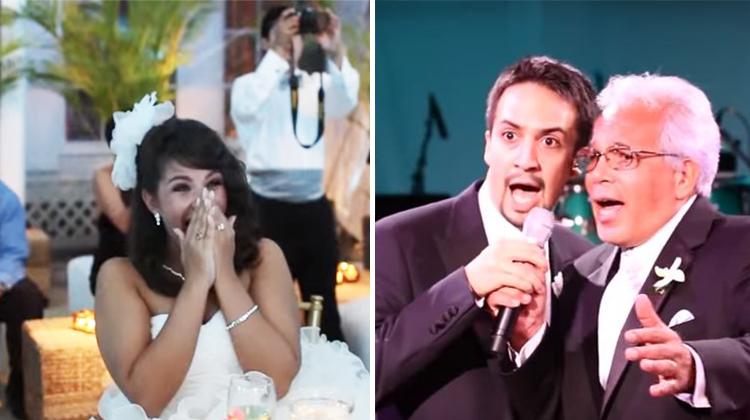 Lin Manuel Miranda Wedding.5 Years Before He Wrote Hamilton Lin Manuel Miranda Pulled Off