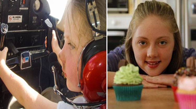 16-Yr-Old Becomes Australia's Youngest Pilot. How 20,000 Cupcakes Made Her Dream Come True