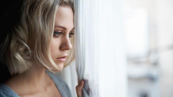 wife looking out window dear husband letter