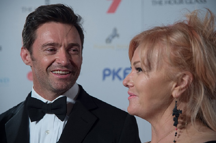 "Hugh Jackman, who stars as circus founder P. T. Barnum in the upcoming biography ""The Greatest Showman,"" and Deborra-Lee Furness celebrated 21 years of marriage earlier this year."