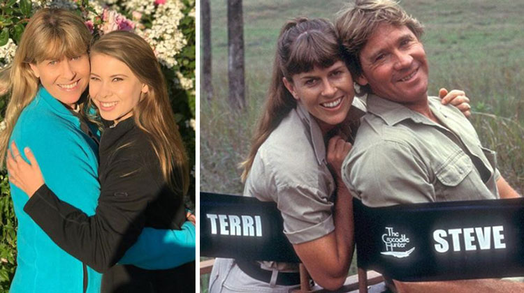 steve irwin's daughter and wife