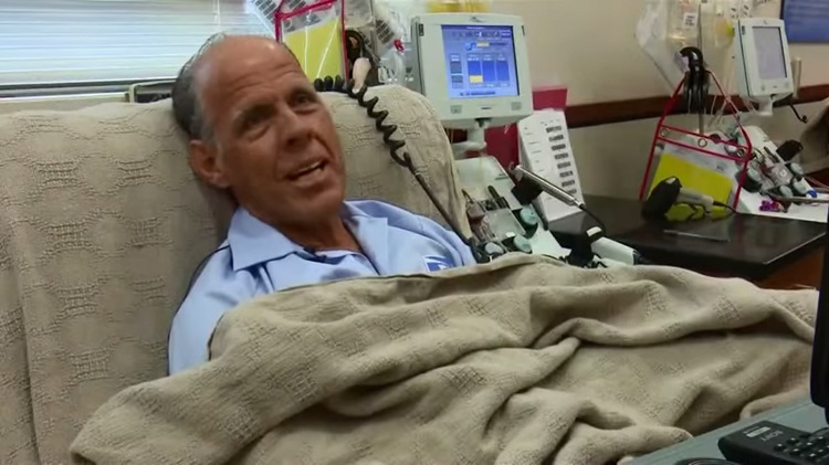 Marcos Perez, a 57-year-old mailman in Texas, was recently honored at a San Antonio blood bank for reaching the 100-gallon milestone. It's a cause close to his heart, since he had to undergo a transfusion as a premature newborn.