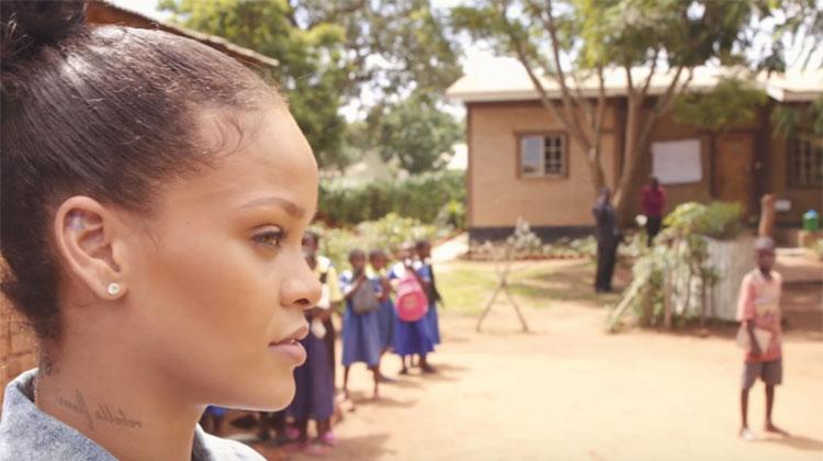 rihanna donates bikes malawi