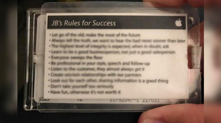 steve jobs 10 rules of success pdf