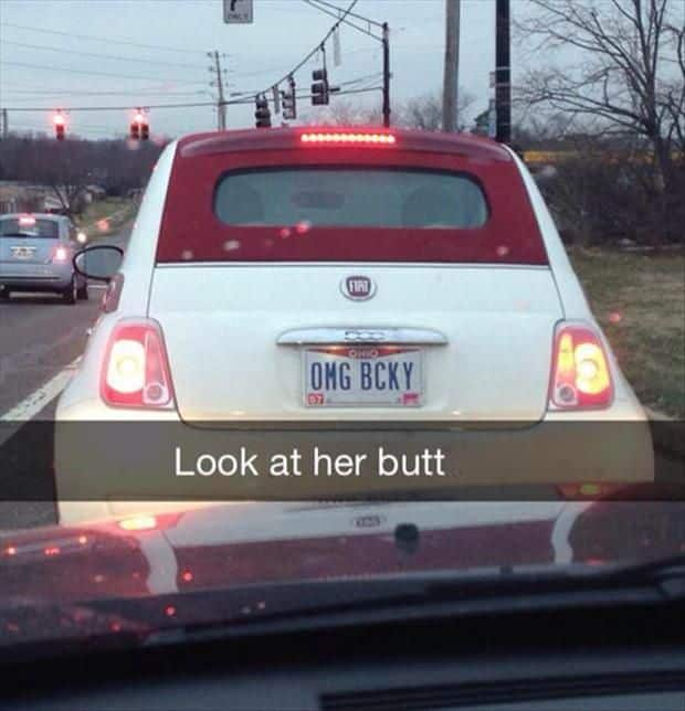 18 Creative License Plates That'll Make You Laugh Out Loud