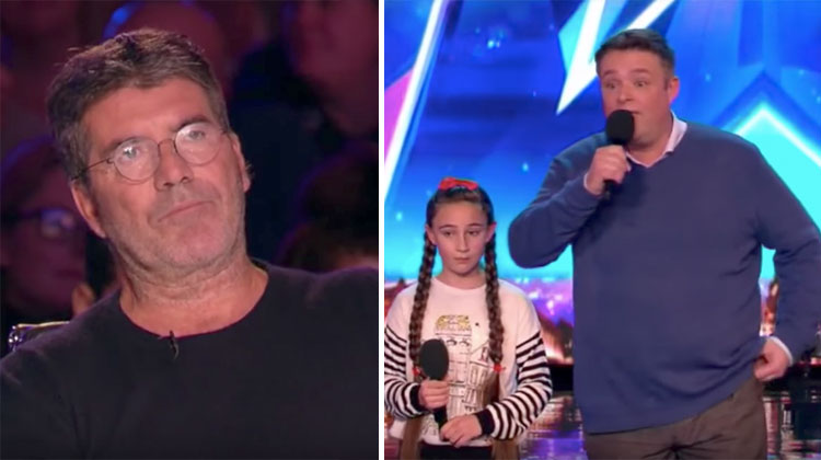 When Simon Disses Father-Daughter Act, Dad Makes An Amazing