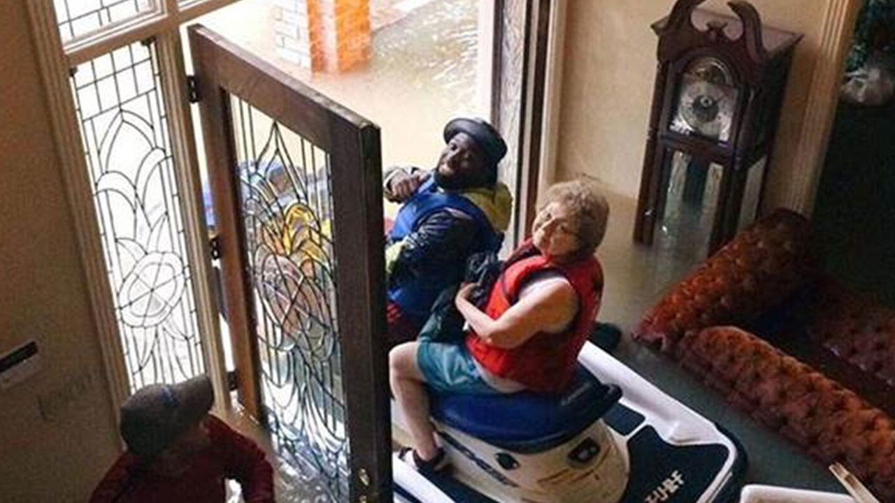 Trapped Grandpa Watches Floodwaters Rise — So He Calls Chick-Fil-A.
