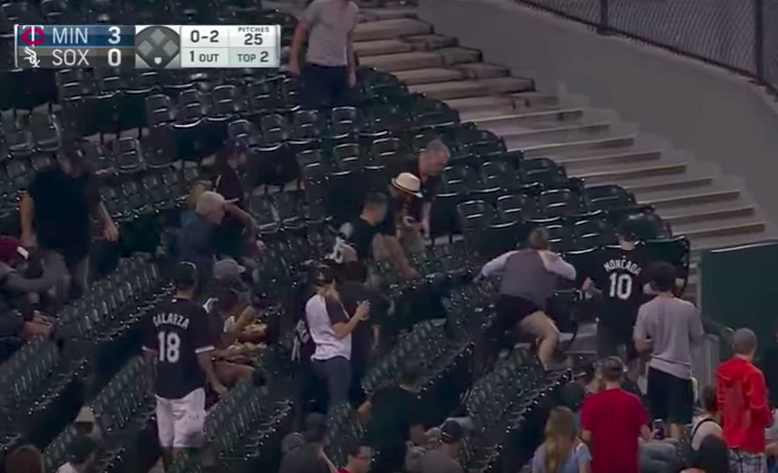 Only One Can Survive Source Barabulyko Youtube: Woman Steals Foul Ball From Teenage Baseball Fan At White