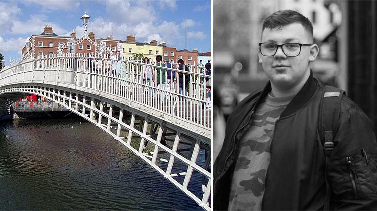 teen saves man on bridge