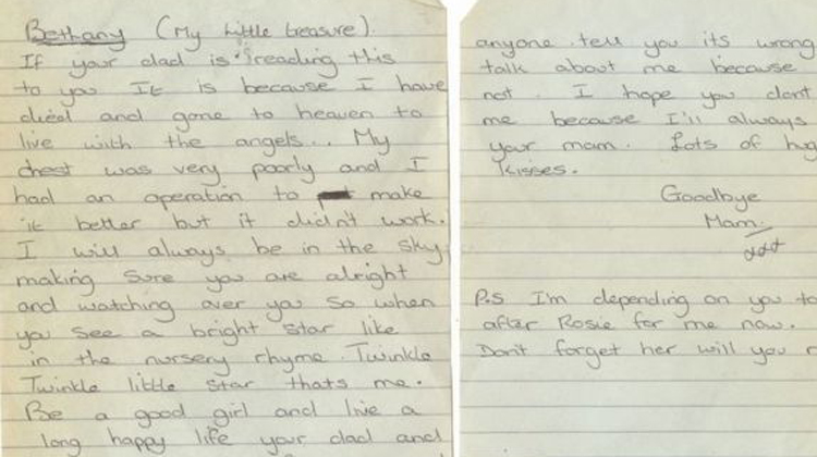 Bookstore Owner Shocked To Find Dying Moms Last Letter Hidden In