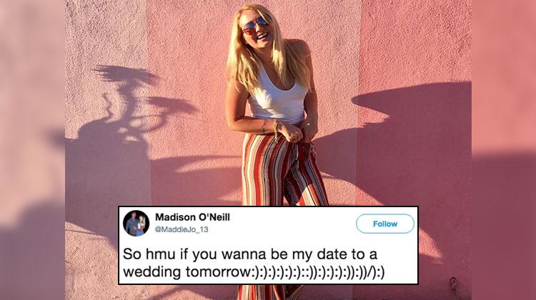 madison date to wedding