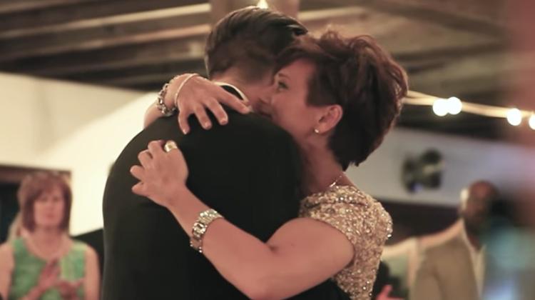mo teary holding groom
