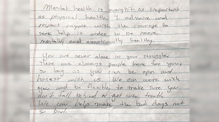 mental health teacher