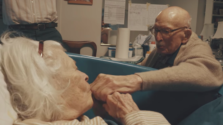true love old couple