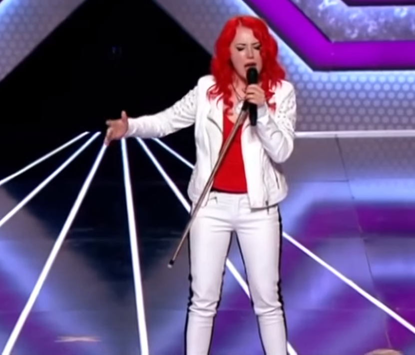 Crown Underestimates Ukrainian X Factor Singer