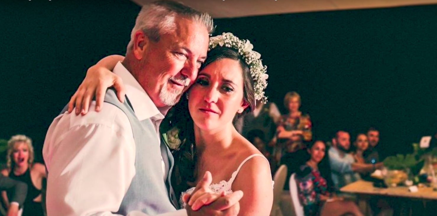Dad Surprising Daughter With Song At Wedding  -InspireMore com