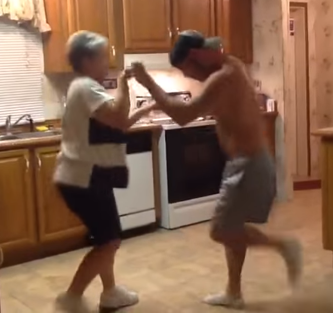 Mother Son Dance Songs 2017: Mom & Son Dance To Favorite Song In Kitchen. -InspireMore.com