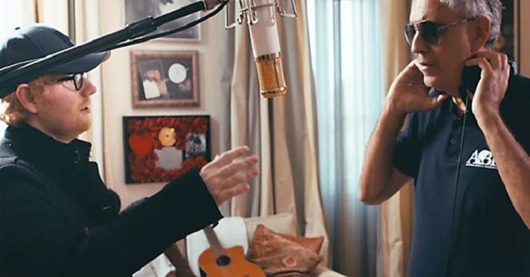 Ed Sheeran & Andrea Bocelli Collaborate For