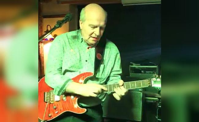 grandpa epic guitar playing