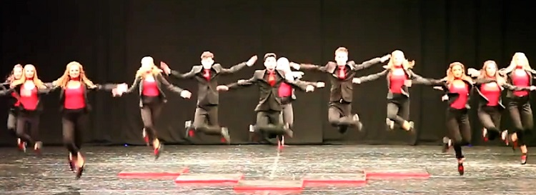 Irish dance troupe Fusion Fighters gave a totally impressive performance at this year's World Irish Dance Championships.