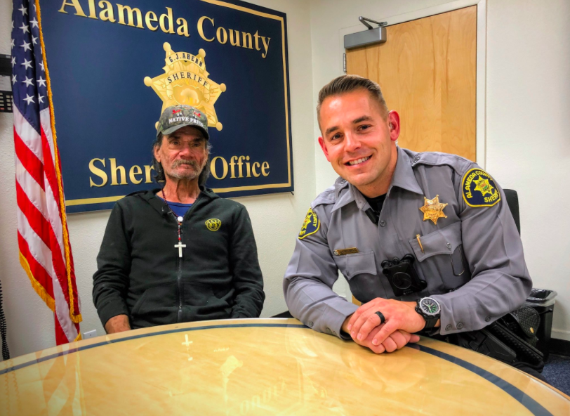 Homeless Michael Myers Gets Job Thanks To Cop  -InspireMore com