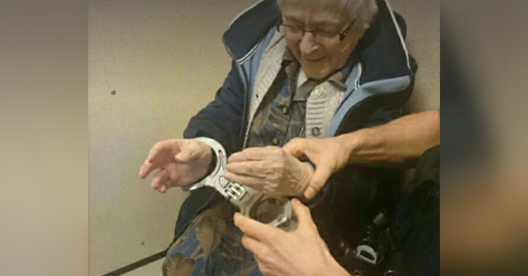arrested grandma