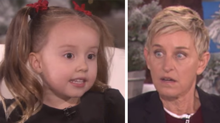 Adorable 4-Year-Old Stuns Ellen With Incredible Skills ...