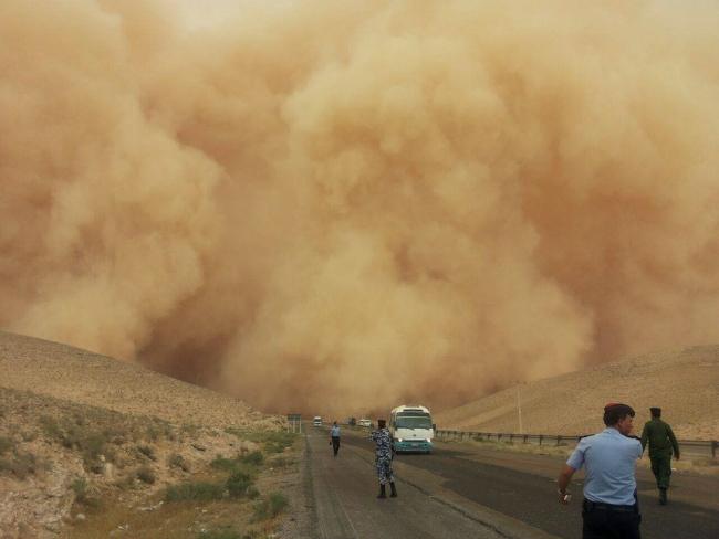 storm in jordan