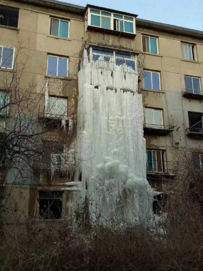 waterfall ice