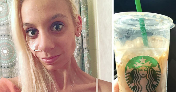 Depressed Teen Plans Suicide Until She Sees Barista's Simple Message On Her Coffee.