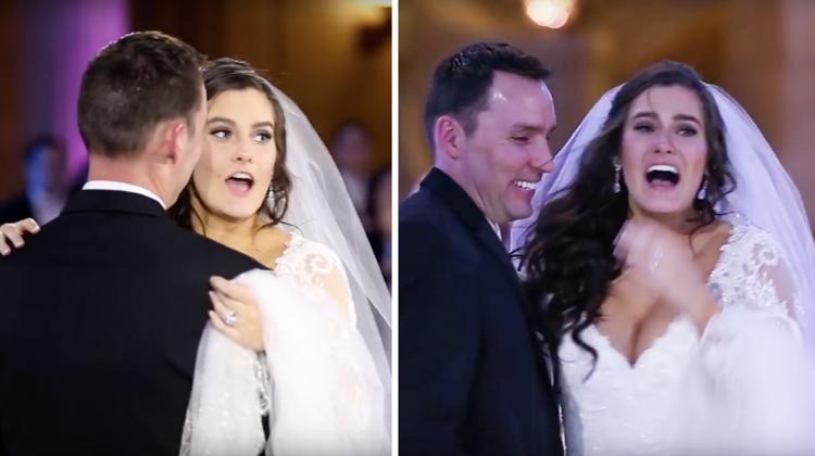 bride in shock