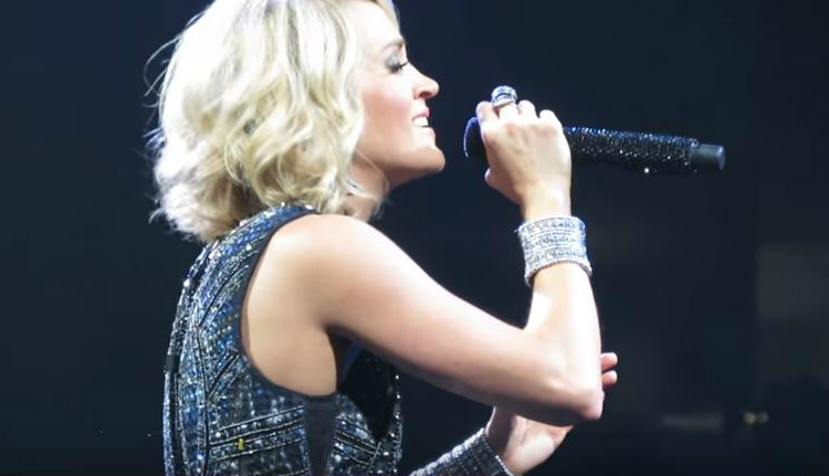 carrie singing