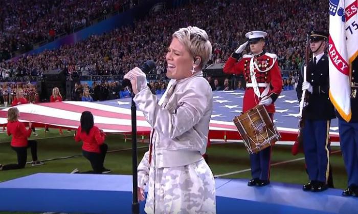 singing anthem