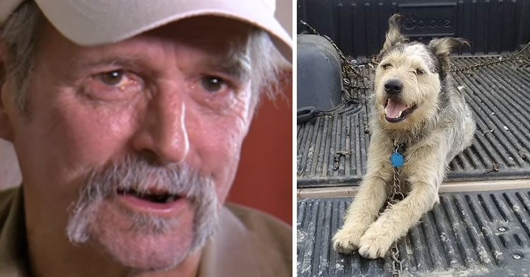 Dying Man Pleads With Facebook To Find Home For His Dog & The Response Is Overwhelming.