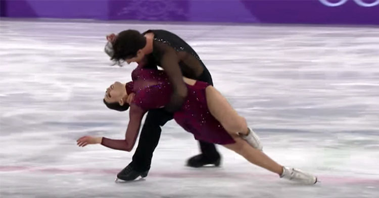 tessa and scott canadian skaters