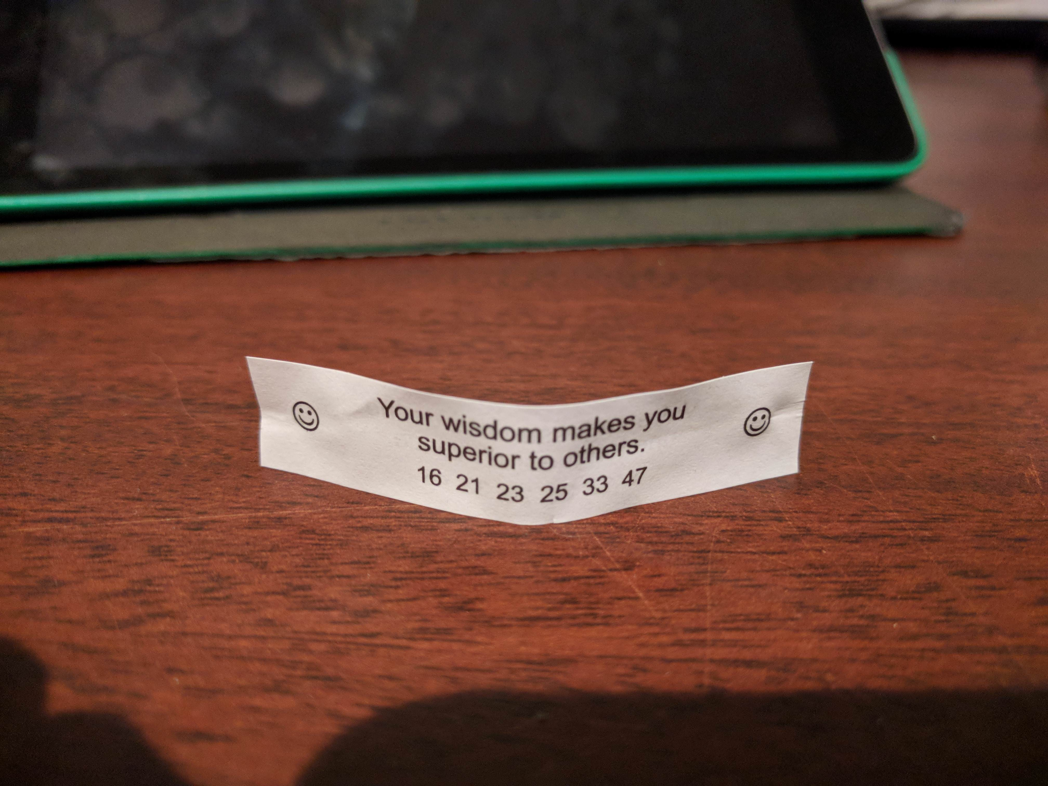 photo regarding Printable Funny Fortune Cookie Sayings known as 30 Hilarious Messages Found out Inside Fortune Cookies InspireMore