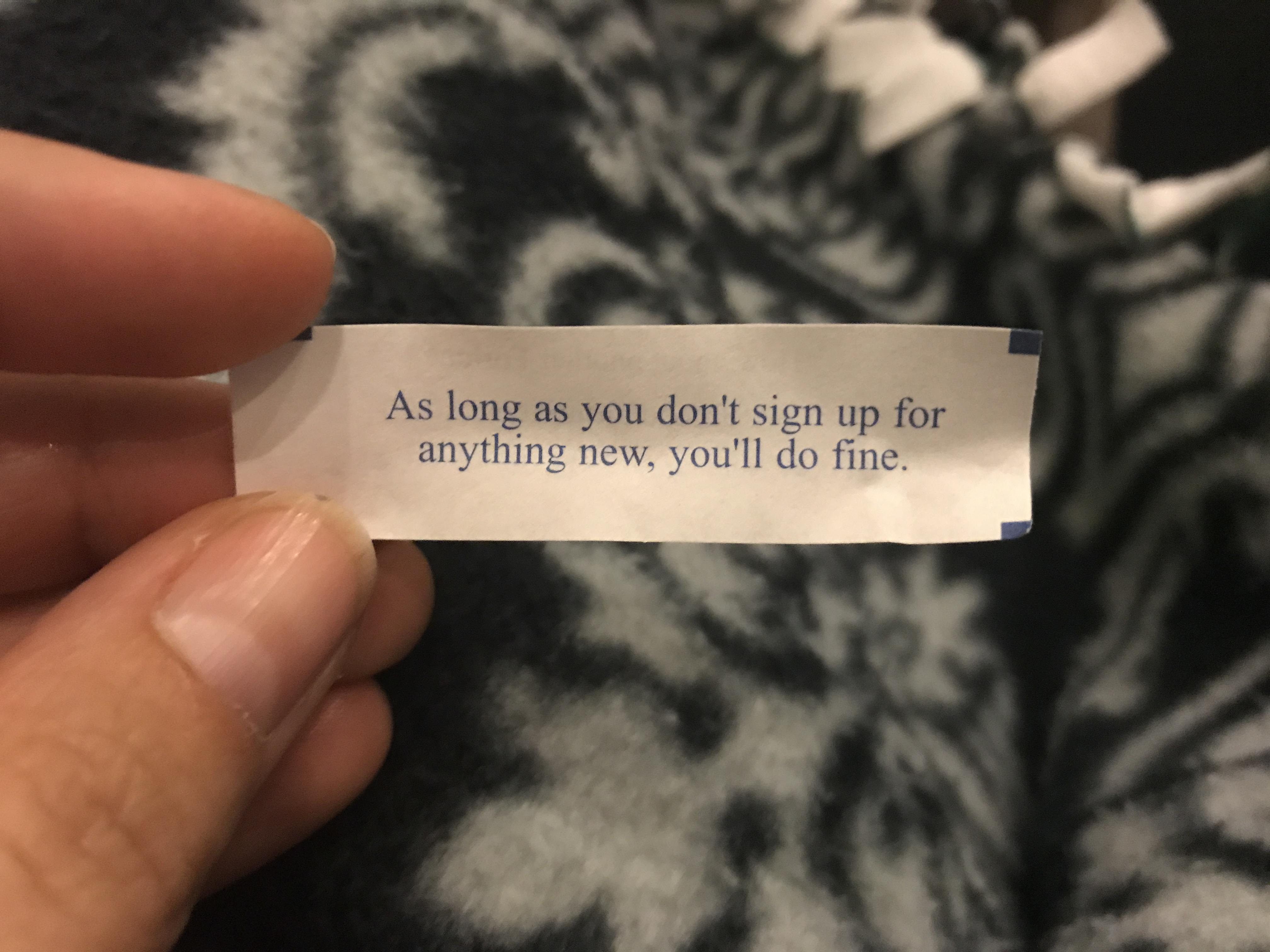 picture relating to Printable Funny Fortune Cookie Sayings named 30 Hilarious Messages Discovered Within Fortune Cookies InspireMore