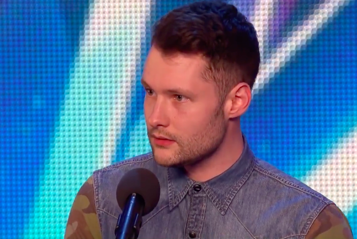 Calum Scott S Robyn Audition For Britain S Got Talent Inspiremore