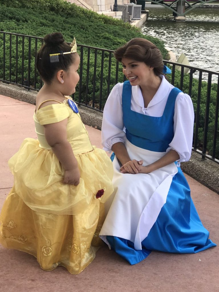 daisy meets belle