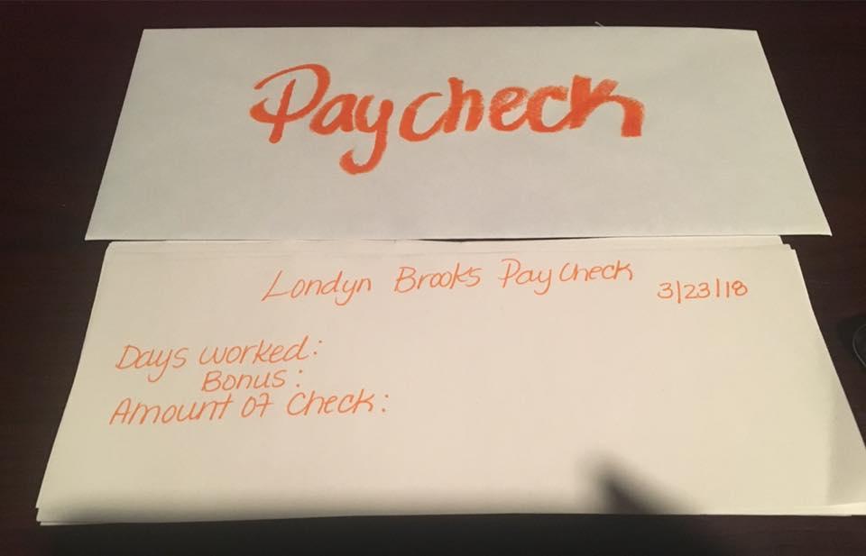 londyn paycheck