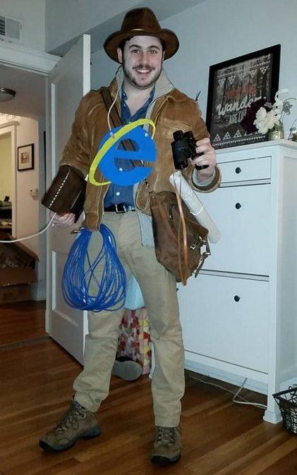internet explorer costume