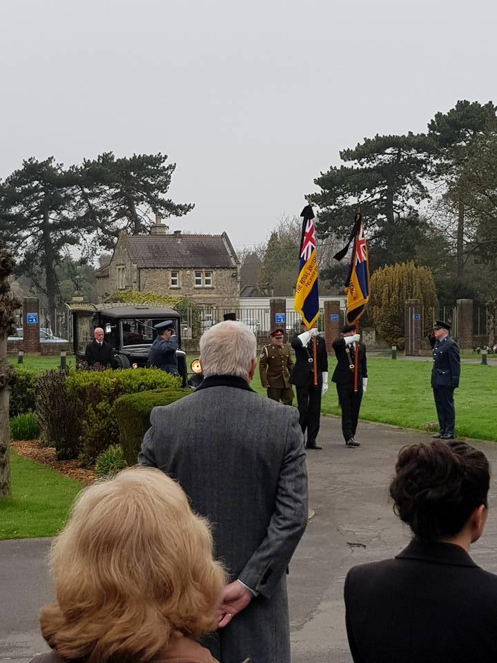 raf veteran funeral