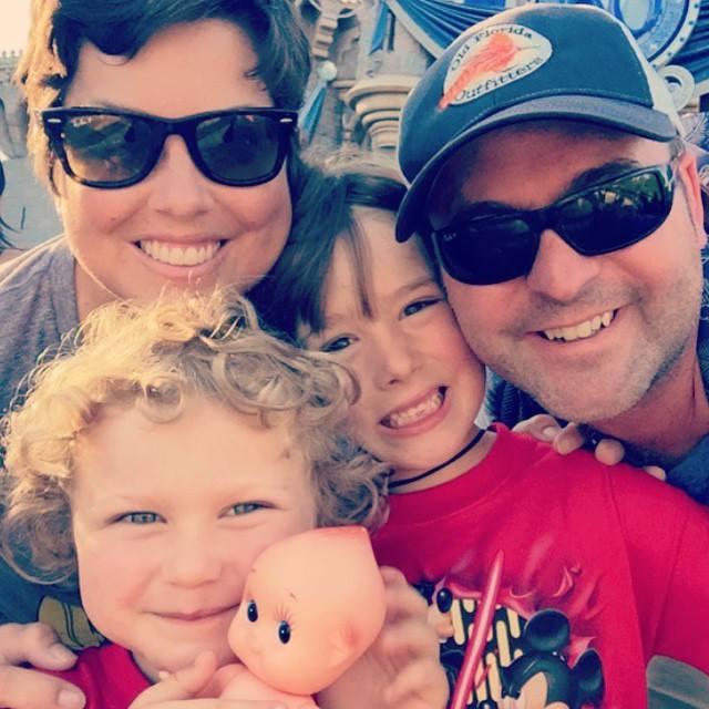 mary shertenlieb and family