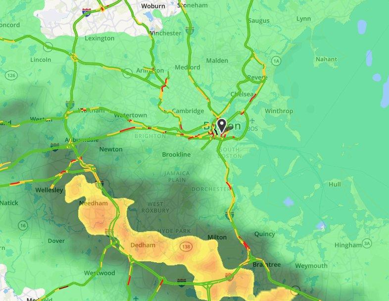 boston marathon rain