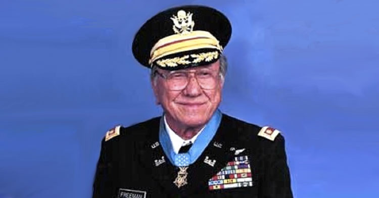 Major Ed W Freeman Given Medal Of Honor After Vietnam