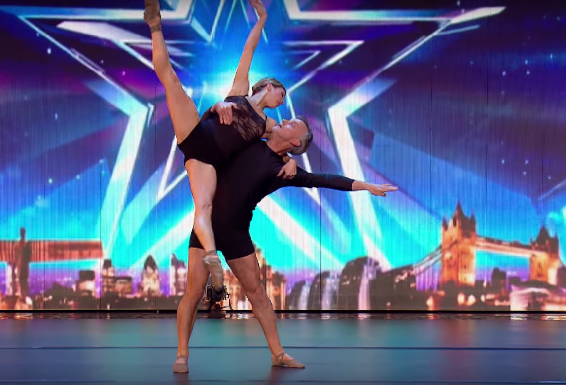 peter and shannon parker 39 s dance audition on bgt inspiremore. Black Bedroom Furniture Sets. Home Design Ideas
