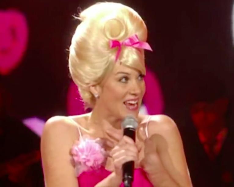 christina applegate singing